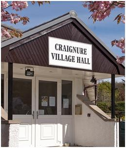 Entrance, Craignure Village Hall